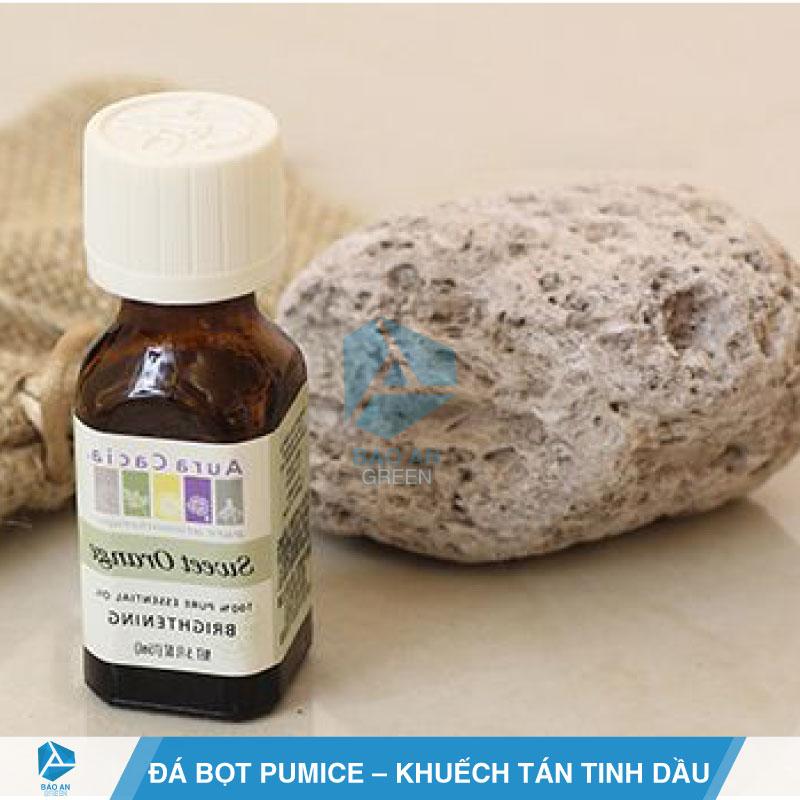 Ứng dụng khuếch tán tinh dầu với đá bọt Pumice