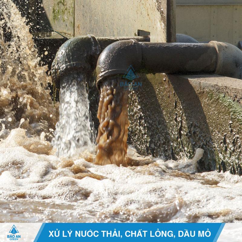 Xử lý nước thải, chất lỏng, dầu mỏ