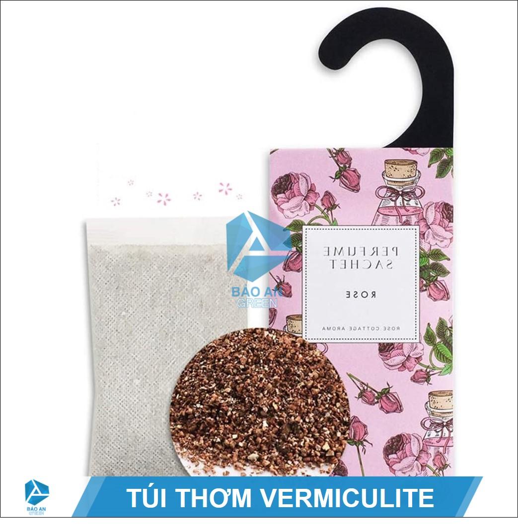 """""""Nguyên liệu Vermiculite"""" làm túi thơm giữ mùi & an toàn"""